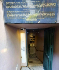 116 YEARS OLD BOMB SHELTER AT SOFITEL LEGEND METROPOLE HANOI