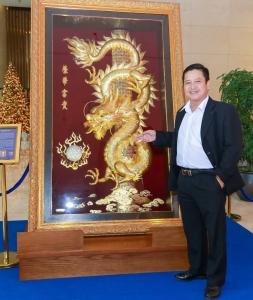 Huyền thoai rồng vàng thương hiệu Prima Art
